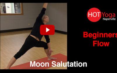 Beginners Moon Salutation Flow