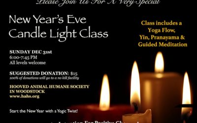 New Year's Eve Candle Light Yoga | Give To A Good Cause